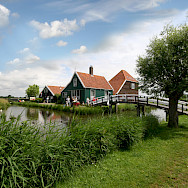Open Air Museum, Zaanse Schans. Photo courtesy of the Netherlands Board of Tourism