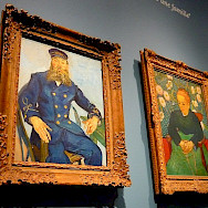 Van Gogh paintings in Van Gogh Museum, Amsterdam. Photo via Flickr:Herry Lawford