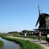 Biking the Zaanse Schans region in Zaandam, the Netherlands. Flickr:Liorek7z