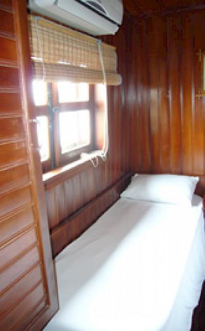 Cabin - Funan Cruise | Bike & Boat Tours