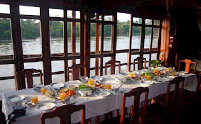 Restaurant - Funan Cruise | Bike & Boat Tours