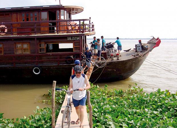 Le Cochinchine renamed Funan Cruise | Bike & Boat Tours