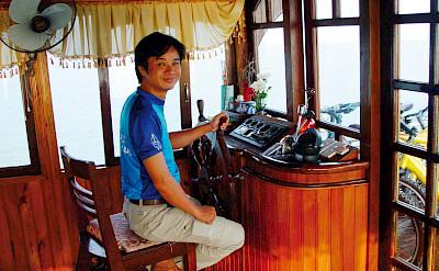 Captain - Vietnamese Junks | Bike & Boat Tours
