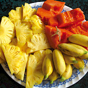 Fresh fruit - Vietnamese Junks | Bike & Boat Tours