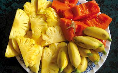 Fresh fruit - Vietnamese Junks | Bike & Boat Tours