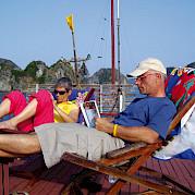 deck para banho de sol - Vietnamese Junks