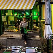 Evening snack in Antwerp, Belgium. Flickr:Leonardo Angelini