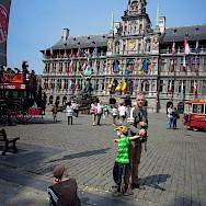 Sightseeing in Antwerp, Belgium. Flickr:Stephen Whiffin