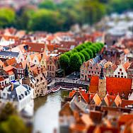 Overlooking Bruges in Belgium. Flickr:Andres Nieto Porras