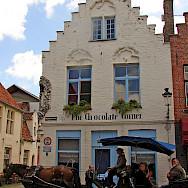 The Chocolate Corner shop in Bruges, Belgium. Flickr:RaiderofGin
