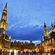 Grand Place in Brussels, Belgium. Flickr:Hernan Pinera