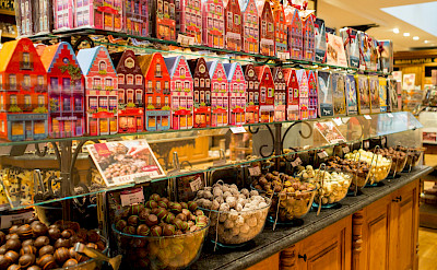 Chocolate Shop in Brussels, Belgium. Flickr:RBoed