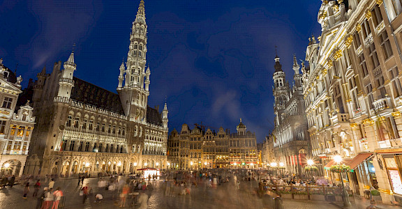 La Grand Place in Brussels, Belgium. Flickr:Jiuguang Wang