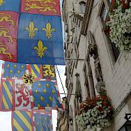 Flags of Dendermonde in East Flanders, Belgium. Flickr:Taco Witte