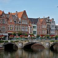 Hoogbrug in Lier, province Antwerp in Belgium. Wikimedia Commons:Trougnouf