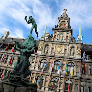 Stadhuis in Antwerp, Belgium. Flickr:Fred Romero