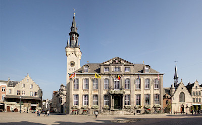 Stadhuis in Lier, province Antwerp in Belgium. Wikimedia Commons:Johan Bakker
