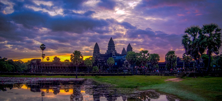 Angkor Wat in Cambodia. Photo via Flickr:Maxim B.