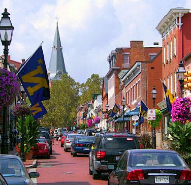 Annapolis. Photo via Wikimedia Commons:Dan Smith