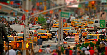 Busy New York City, New York, United States. Photo via Flickr:Giacomo Carena
