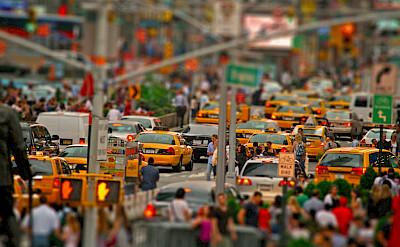 Busy New York City, New York, United States. Photo via Flickr:Giacomo Carena