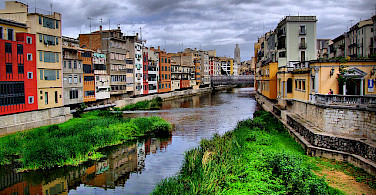 Old Town in Girona, Spain. Photo via Flickr:xlibber