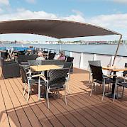 Top deck | De Holland | Bike & Boat Tours