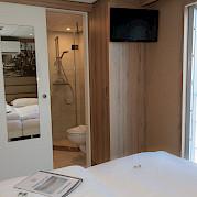 Upper deck double/twin cabin | De Holland | Bike & Boat Tours