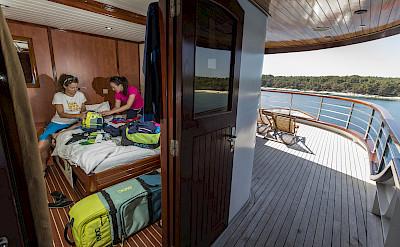 Cabin | Andela Lora - Croatia Bike Boat Tours