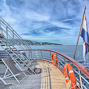 Above deck | Andela Lora - Croatia Bike Boat Tours