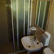 Cabin Bathroom | Andela Lora - Croatia Bike Boat Tours