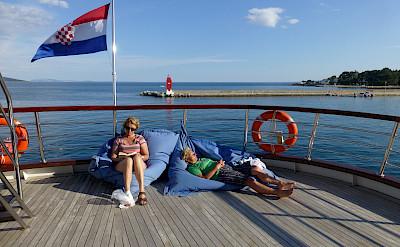 Sun Deck | Andela Lora - Croatia Bike Boat Tours