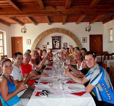 Bike Tour on Lake Balaton in Hungary.