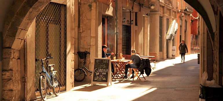 Bike rest in Girona, Spain. Photo via Flickr:muffinn