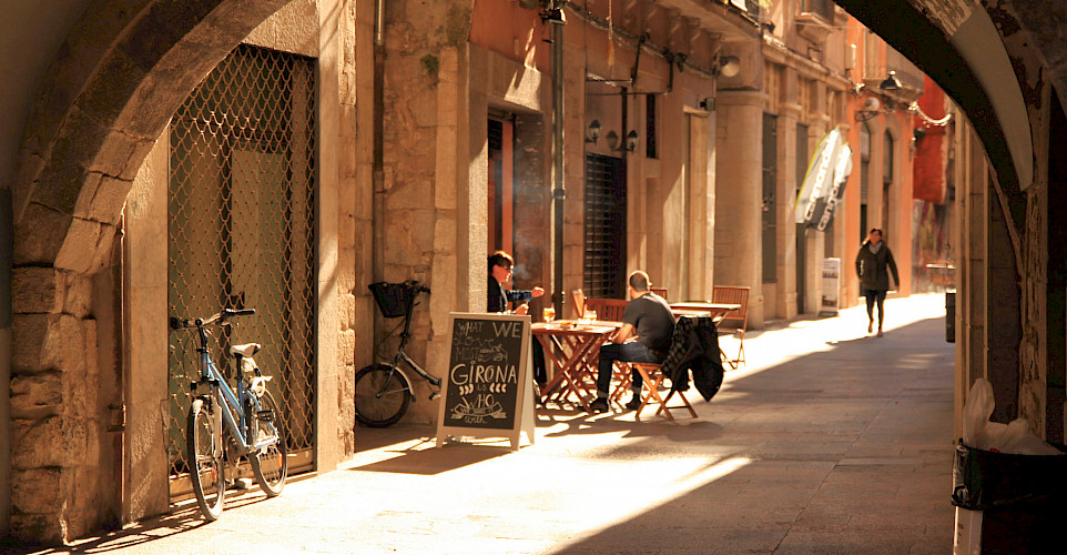 Bike rest in Girona, Spain. Photo via Flickr:muffinn
