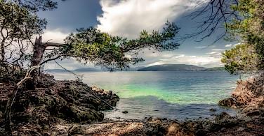 View from Cres Island, Kvarner Bay, Croatia. Flickr:Bernd Thaller