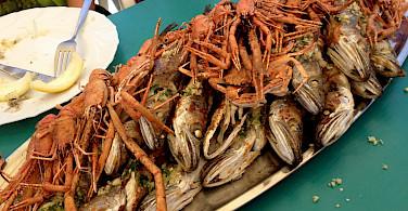 Seafood on Pag Island, Kvarner Bay, Croatia. Flickr:Patty Ho