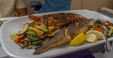 Fresh seafood in Croatia! Flickr:Arnie Papp