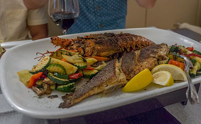 Fresh seafood in Croatia! Flickr:Arnie Papp