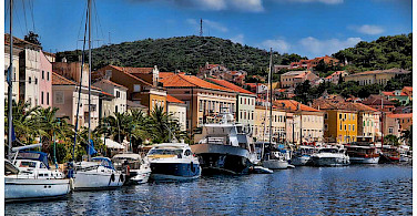Harbor in Losinj, Kvarner Bay, Croatia. Photo via Flickr:Mario Fajt