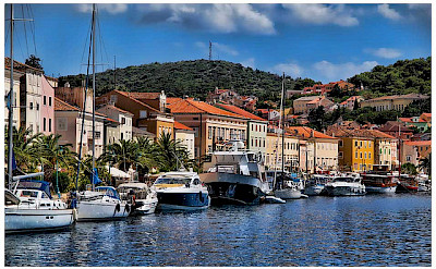 Harbor on Lošinj Island in Kvarner Bay, Croatia. Flickr:Mario Fajt