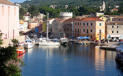 Harbor in Mali Losinj, Kvarner Bay, Croatia. Flickr:Peter Denis Cox