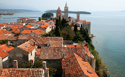 Old Town of Rab in Kvarner Bay, Croatia. Flickr:Tess