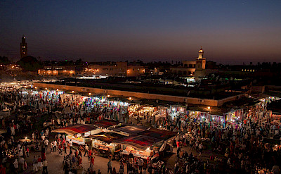 Market in Marrakech, Morocco. Flickr:wwwSuperCar-RoadTripfr
