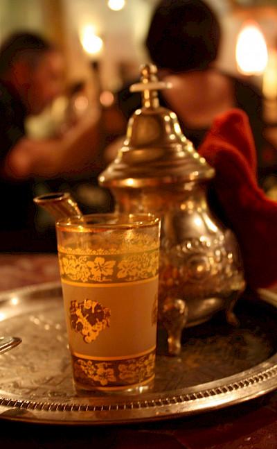 Moroccan mint tea. Flcikr:KRebaud