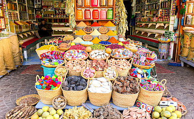 Spice Shop in Old Medina, Marrakech, Morocco. Flickr:Catherine Poh Huay Tan