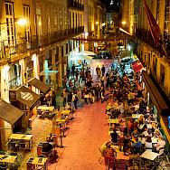 Dining in Lisbon, Portugal. Flickr:Luca Sartoni