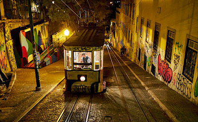 Local transportation in Lisbon, Portugal. Flickr:Luca Sartoni
