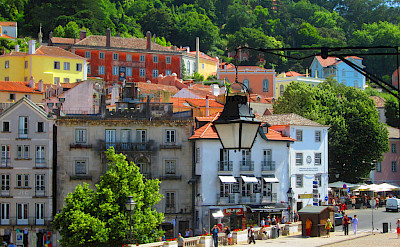 Biking through Sintra, Portugal. Flickr:Cahroi