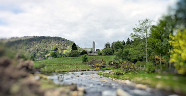 Glendalough in County Wicklow, Ireland. Flickr:Sean Macentee
